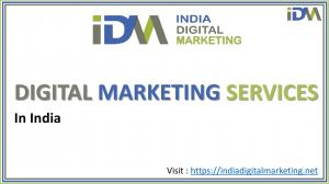 Best Digital Marketing Services in India (SEO,SMO,Web Development,Email Marketing)