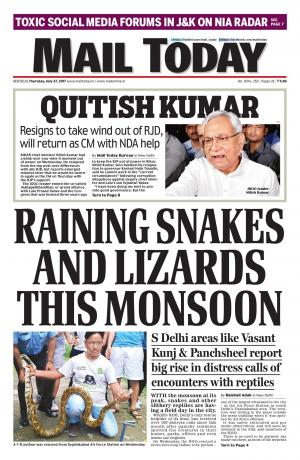 Mail Today July 27, 2017