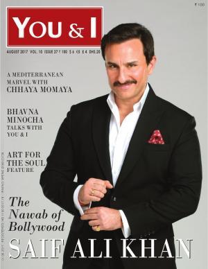 August-2017, Issue 27- Saif Ali Khan Magazine cover