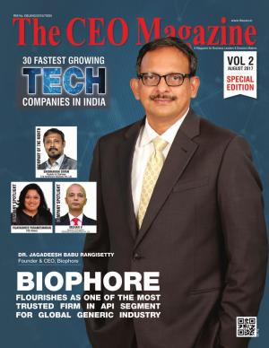 The CEO Magazine 30 Tech Special August 2017