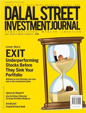 Dalal Street Investment Journal, Volume 32 Issue no 18, Aug 20 , 2017