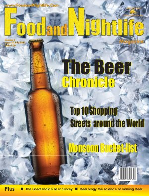 Food and Nightlife Magazine July 2013