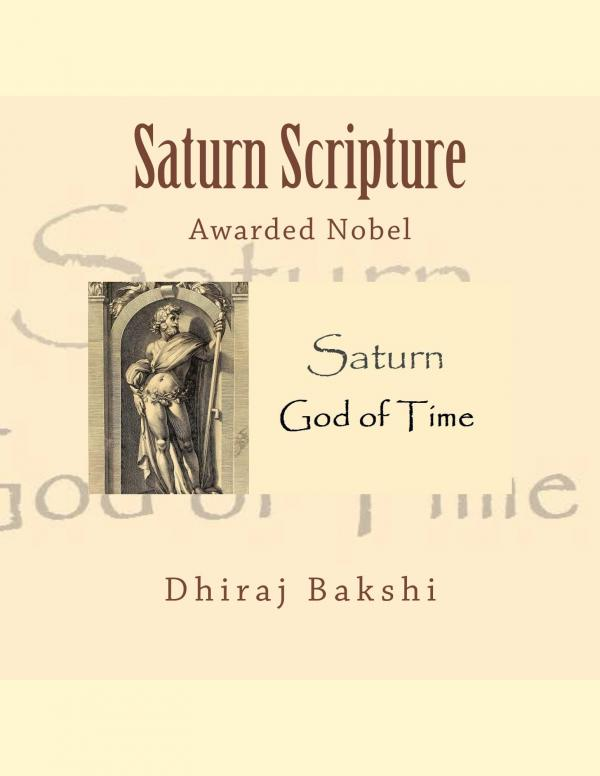 Saturn Scripture e-book in English by DHIRAJ BAKSHI