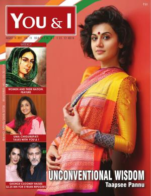 August 14, 2017- Issue-29  Taapsee Pannu Cover