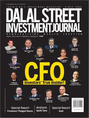 Dalal Street Investment Journal, Volume 32 Issue no 19,Sep 3, 2017
