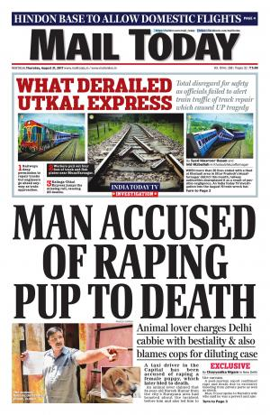 Mail Today issue, August 31, 2017