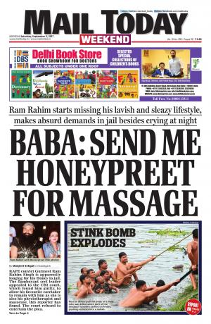 Mail Today issue, September 2, 2017