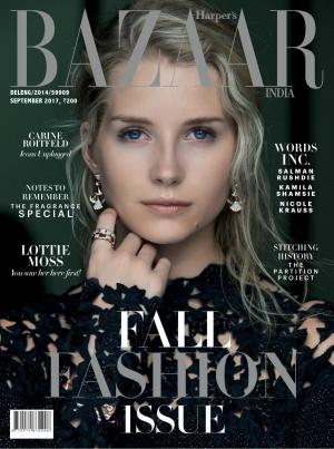 Harpers Bazaar India- September 2017