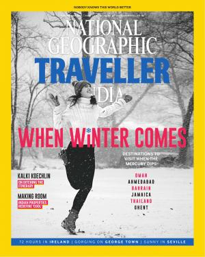 National Geographic Traveller India - September 2017 • Vol 6 • Issue 3