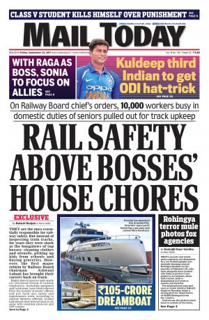 Mail Today Issue September 22, 2017