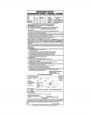 Sarkari Naukri for LDC and MTS: 15 Vacancies Notified, HQCC (Army)Lucknow Recruitment 2017