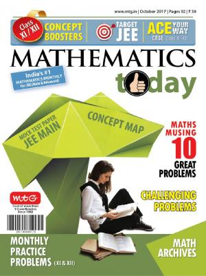 Mathematics Today- October 2017
