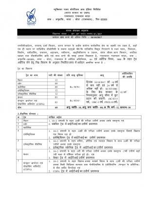 NPCIL Recruitment 2017, 60 Vacancies, Sarkari Naukri for Trade Apprentices Posts