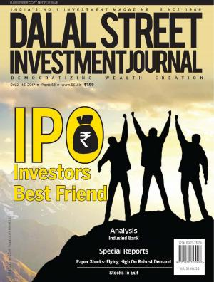 Dalal Street Investment Journal, Volume 32 Issue no 22 October 15th, 2017