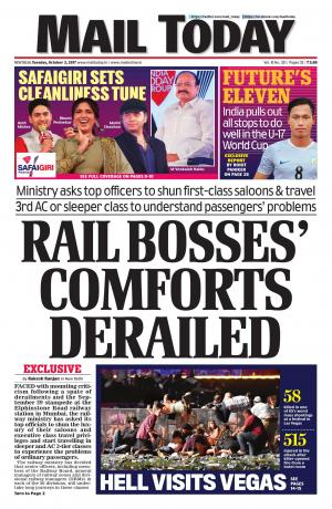 Mail Today issue October 3, 2017
