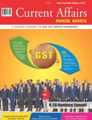 Current Affairs Made Easy( July- August- September 2017)
