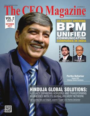 The CEO Magazine, BPM & Unified Communication, Octorber 2017
