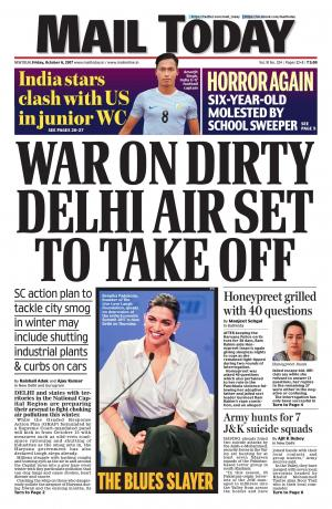 Mail Today issue October 6, 2017