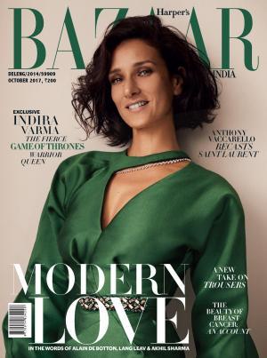 Harpers Bazaar India- October 2017