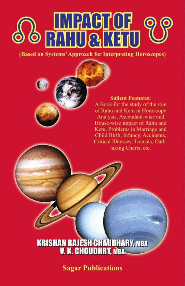 Impact Of Rahu And Ketu e-book in English by Sagar Publications