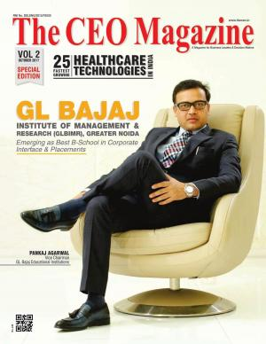 25 Fastest Growing Healthcare Technologies in India, Special Edition October 2017
