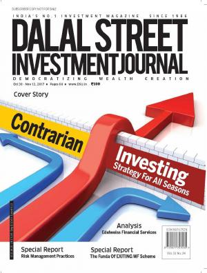 Dalal Street Investment Journal, Volume 32 Issue no 24 November 12th, 2017
