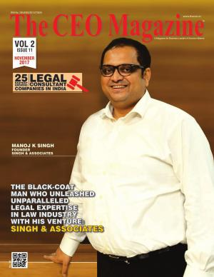 25 Fastest Growing Legal Consultants, Issue 11- November 2017