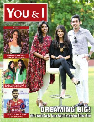 November 6, 2017- Issue-41 Jayanti Reddy, Tanya Gupta Viccajee and Eshaan Girri