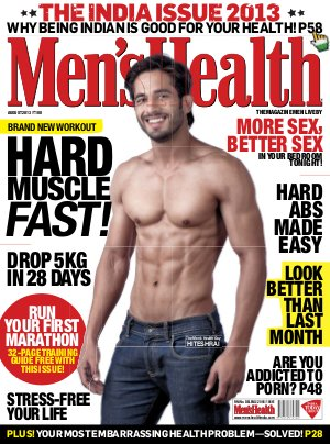 Men's Health-August 2013 - Read on ipad, iphone, smart phone and tablets.
