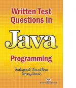 Written Test Questions in Java Programming