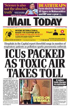 Mail Today issue November 13, 2017