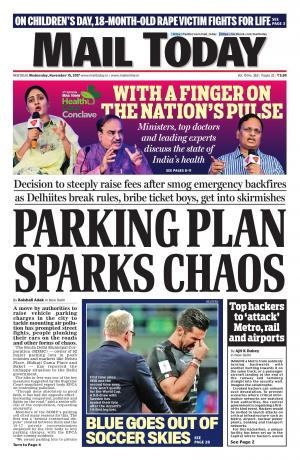 Mail Today issue November 15, 2017