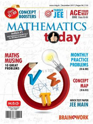 Mathematics Today- December 2017