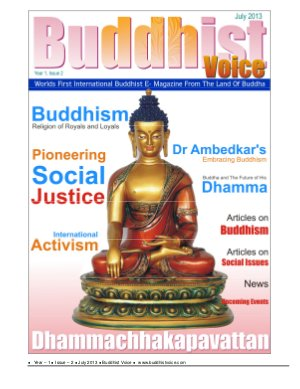 Buddhist Voice - Read on ipad, iphone, smart phone and tablets.