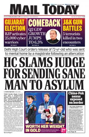 Mail Today issue, December 1, 2017