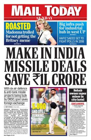 Mail Today issue, December 3, 2017