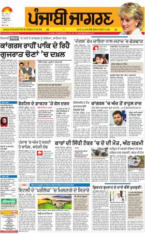 MOGA/FARIDKOT/MUKTSAR: Punjabi jagran News : 11th December 2017