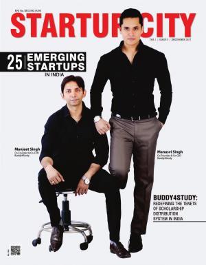 25 Emerging Startups, 5th issue December 2017