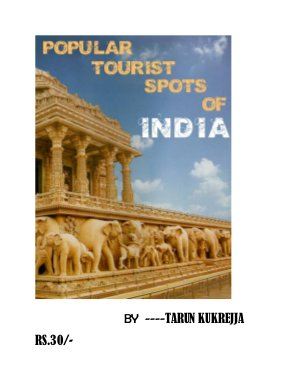POPULAR TOURIST SPOTS OF INDIA - Read on ipad, iphone, smart phone and tablets.