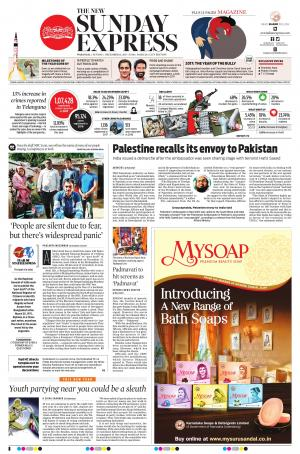 The New Indian Express-Warangal