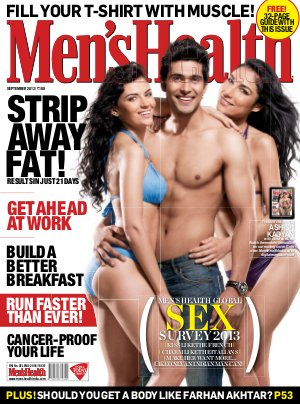 Men's Health- September 2013 - Read on ipad, iphone, smart phone and tablets.
