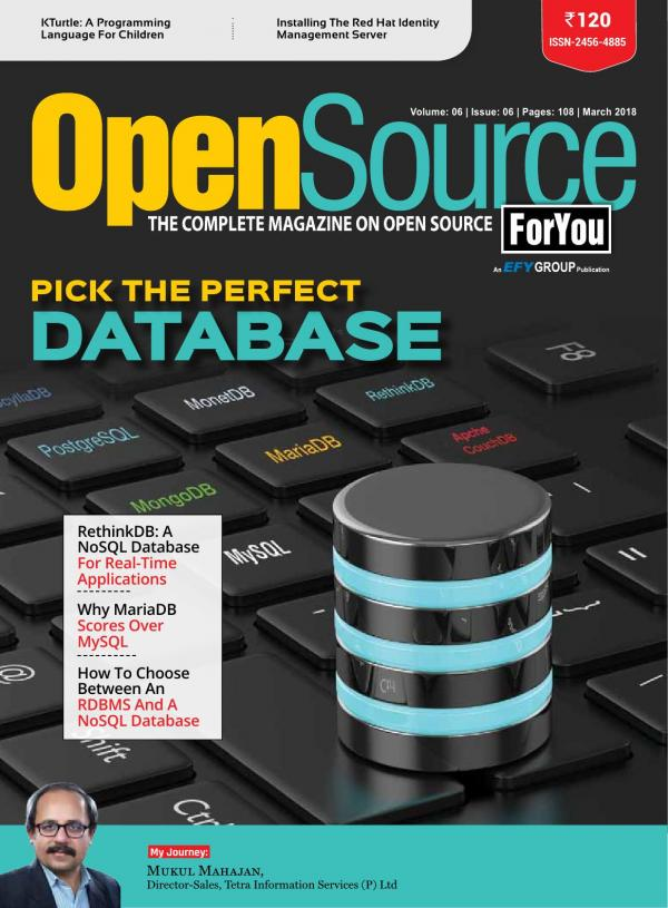 Open Source For You e-magazine in English by EFY Enterprises Pvt  Ltd