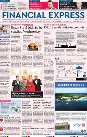 Chennai e-newspaper in English by Financial Express