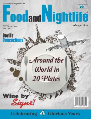 Food and Nightlife Magazine October 2013