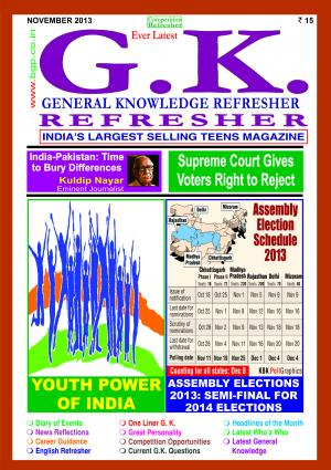 GENERAL KNOWLEDGE REFRESHER NOVEMBER 2013