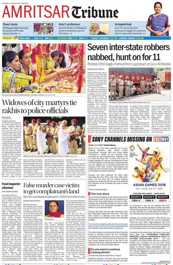 Amritsar Tribune, AT_25_August_2018 : readwhere