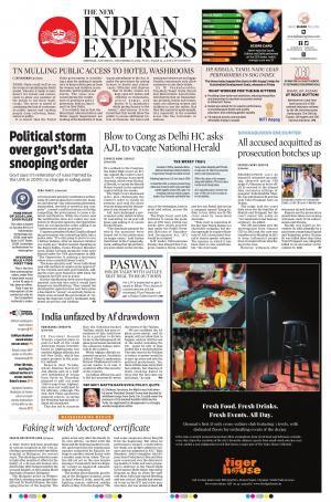 express publications the new indian express chennai sat 22 dec 18