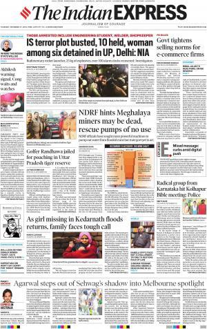 Indian Express Pune, Thu, 27 Dec 18