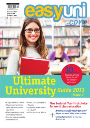EASYUNI Ultimate University Guide 2013 - Read on ipad, iphone, smart phone and tablets.