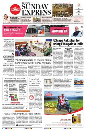 Express Publications The New Indian Express-Thrissur, Sun, 3